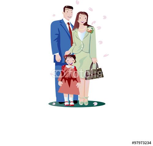 入学式 桜 小学校 イラスト