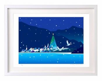 クリスマス ツリー 絵画 版画