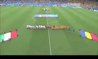 UEFA EURO2008 ルーマニアVSイタリア