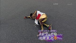 バンクーバーオリンピック スピードスケート男子500m 長島圭一郎が銀メダル