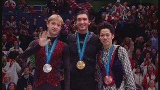 高橋大輔が日本男子フィギュア初の銅メダル