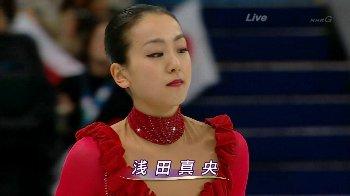 フィギュアスケート女子浅田真央が銀メダル、安藤美姫5位入賞鈴木明子8位入賞