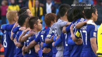 2010年南アフリカW杯決勝トーナメント1回戦 日本代表画像