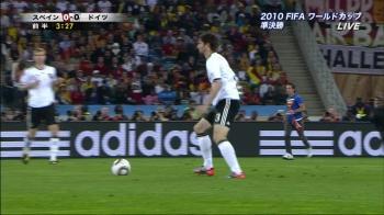 2010年南アフリカW杯準決勝