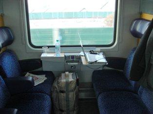 オーストリアの列車