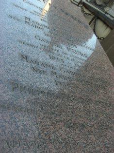 フォーレの墓石