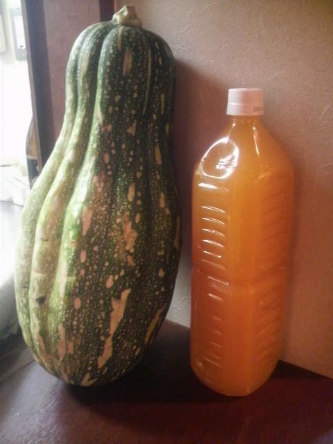 ホバッ対オレンジジュース