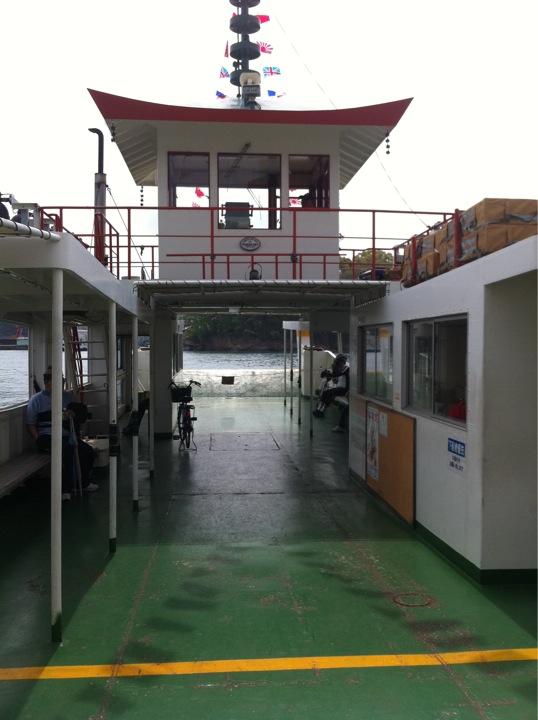 尾道〜向島 小型船