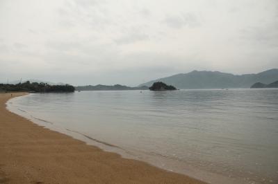因島の海岸