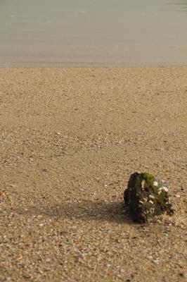 瀬戸内・生口島の砂浜