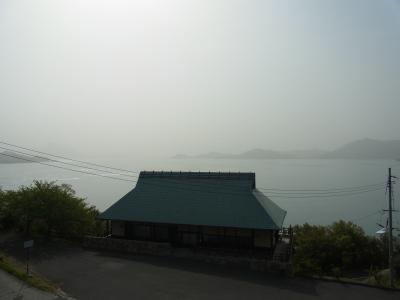 大三島から瀬戸内を望む