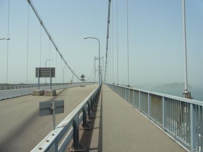 来島海峡大橋から見る瀬戸内