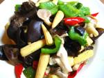 小玉米の野菜炒め