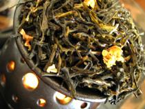 ジャスミン入り緑茶