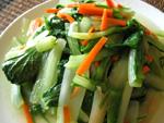小白菜の炒めもの