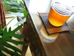 小黄印圓茶80年代初期の散茶プーアール茶)