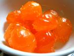 咸蛋黄(家鴨の塩漬け卵の黄身)