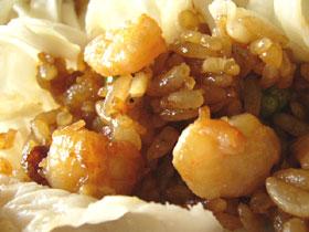 蝦のもち米焼売