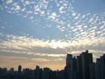 今日の上海の空