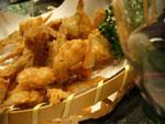 ほたるジャコの天ぷら