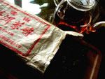 プーアル茶の生茶三分熟茶の磚茶