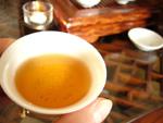 100年ものプーアール茶