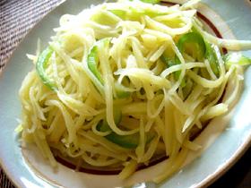 青椒土豆絲