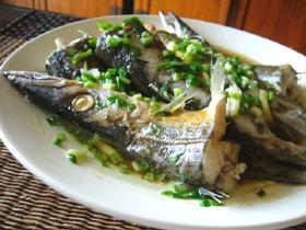 清蒸香梭魚