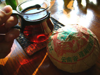 鳳凰沱茶94年(プーアール茶)