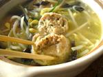 油面筋黄豆芽湯