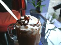 BOONNA CAFEのホットチョコレート