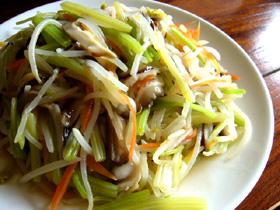 涼拌素錦菜