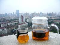 厚紙黄印七子餅茶 ーアル茶