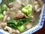 菌�菜心湯