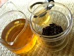 常温乾倉の7542紅絲帯プーアール餅茶1993年(非売品)