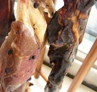 咸肉と醤油肉