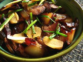 清蒸醤油肉