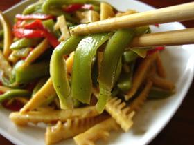 筍頭拌貢菜