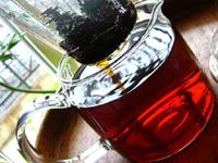 熟茶のプーアール茶