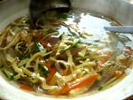 蛋皮胡蘿蔔黄瓜湯