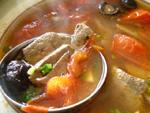 蕃茄猪肝湯(トマトと豚レバーのスープ)