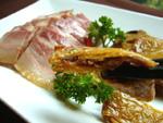 白切咸肉と本バン素鴨