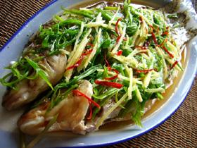 清蒸馬嶺魚