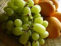 青葡萄と芒果(マンゴー)