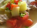 夜開花蕃茄小排湯