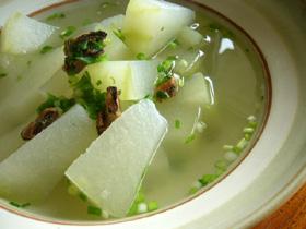 淡菜冬瓜湯