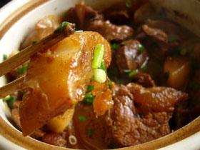 蘿蔔焼牛肉