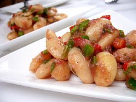 白インゲン豆のサラダ