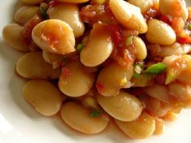 涼拌白芸豆