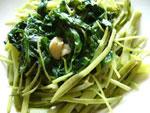 蒜泥空心菜(空心菜のニンニク炒め)